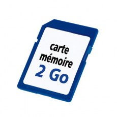 CARTE EXTENSION MEMOIRE 2GO