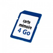 CARTE MEMOIRE MICRO SD 4 GO