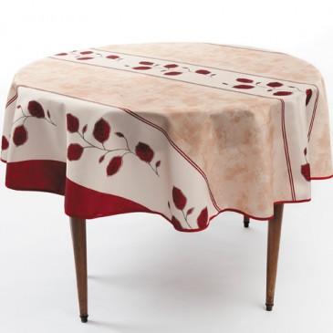 sedao vente arts de la table nappe anti taches automne ronde. Black Bedroom Furniture Sets. Home Design Ideas