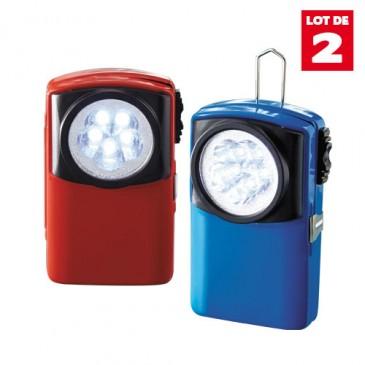 LES 2 LAMPES DE POCHE LEDS