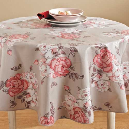 toile cire table ronde stunning toile cire ronde m with. Black Bedroom Furniture Sets. Home Design Ideas