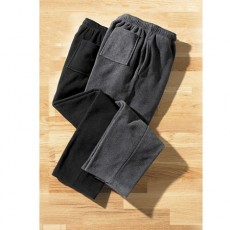 LOT DE 2 PANTALONS POLAIRE