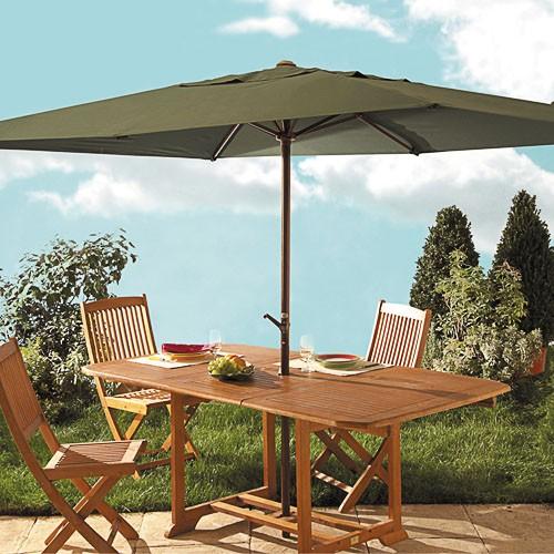 sedao vente d co mobilier de jardin parasol manivelle. Black Bedroom Furniture Sets. Home Design Ideas