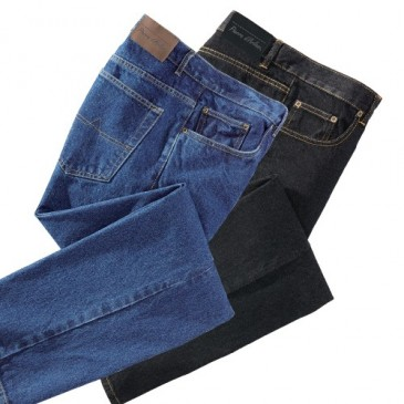 LOT DE 2 JEANS DENIM