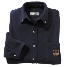 CHEMISE MICROPOLAIRE MARINE