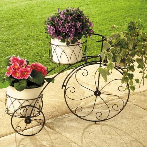 Sedao vente jardinage ext rieur animaux bicyclette - Porte plante exterieur ...