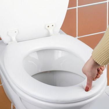 ABATTANT WC REMBOURRÉ