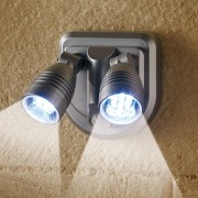 "DOUBLE SPOT ""SENSOR LIGHT"""
