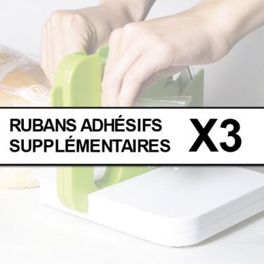 LES 3 RUBANS ADHESIFS SUPPLEMENTAIRES