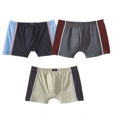 LES 3 BOXERS COTON SPORTING