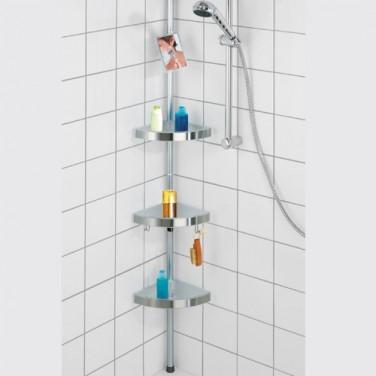 sedao vente salle de bains etagere de douche t lescopique. Black Bedroom Furniture Sets. Home Design Ideas