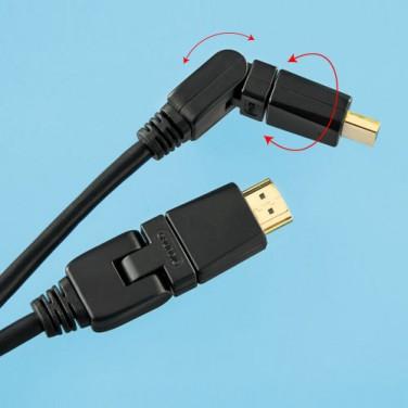 CÂBLE HDMI PIVOTANT
