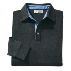 PULL-POLO THERMIQUE NOIR