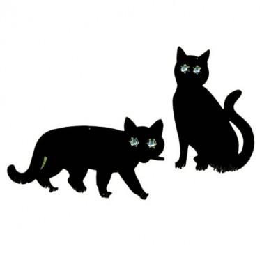 Épouvantails chat - les 2