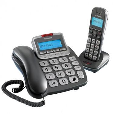 DUO TÉLÉPHONES CONFORT TELEFUNKEN