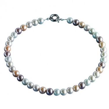 Collier perles de nacre