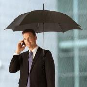 Parapluie «mains libres»