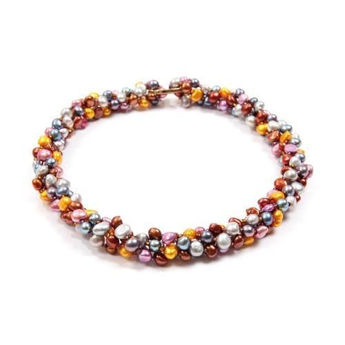 Collier de perles farandole