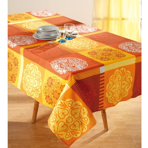 sedao vente arts de la table nappe anti taches occitane rectangulaire. Black Bedroom Furniture Sets. Home Design Ideas
