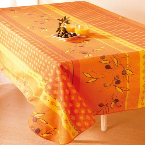 Nappe anti-taches Olivette rectangle