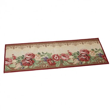GRAND TAPIS ROSES ANCIENNES
