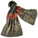Étole «dentelle» laine & soie