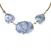 Collier fleur de nacre