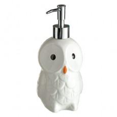 Distributeur de savon «Chouette des neiges»