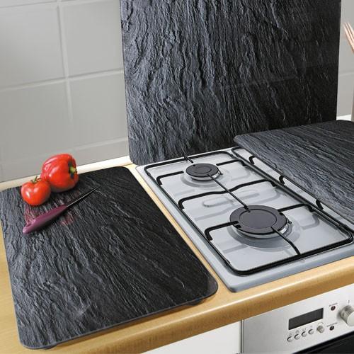 Sedao vente cuisine les 2 couvre plaques ardoise - Plaque ardoise cuisine ...