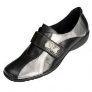 Chaussures bicolores «grande largeur»