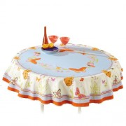 Nappe anti-taches Papillons Ronde