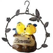 Couple d'oiseaux détecteurs