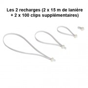 Lot de 2 recharges
