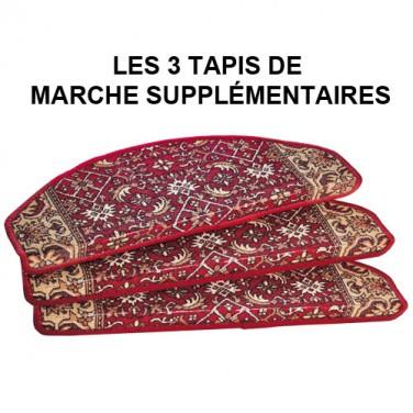 LES 3 TAPIS DE MARCHE SUPPLÉMENTAIRES