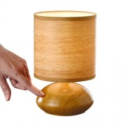 "LAMPE TOUCH ""BOIS"""