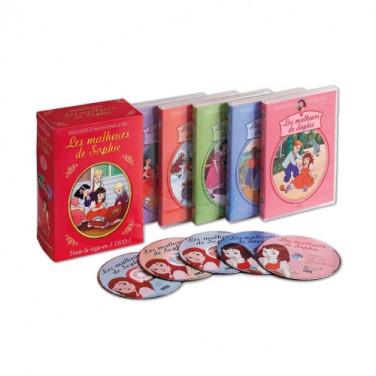 COFFRET 5 DVD LES MALHEURS DE SOPHIE