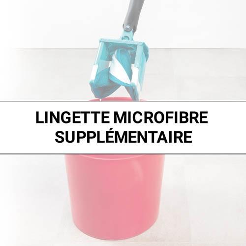 LINGETTE MICROFIBRE SUPPLÉMENTAIRE