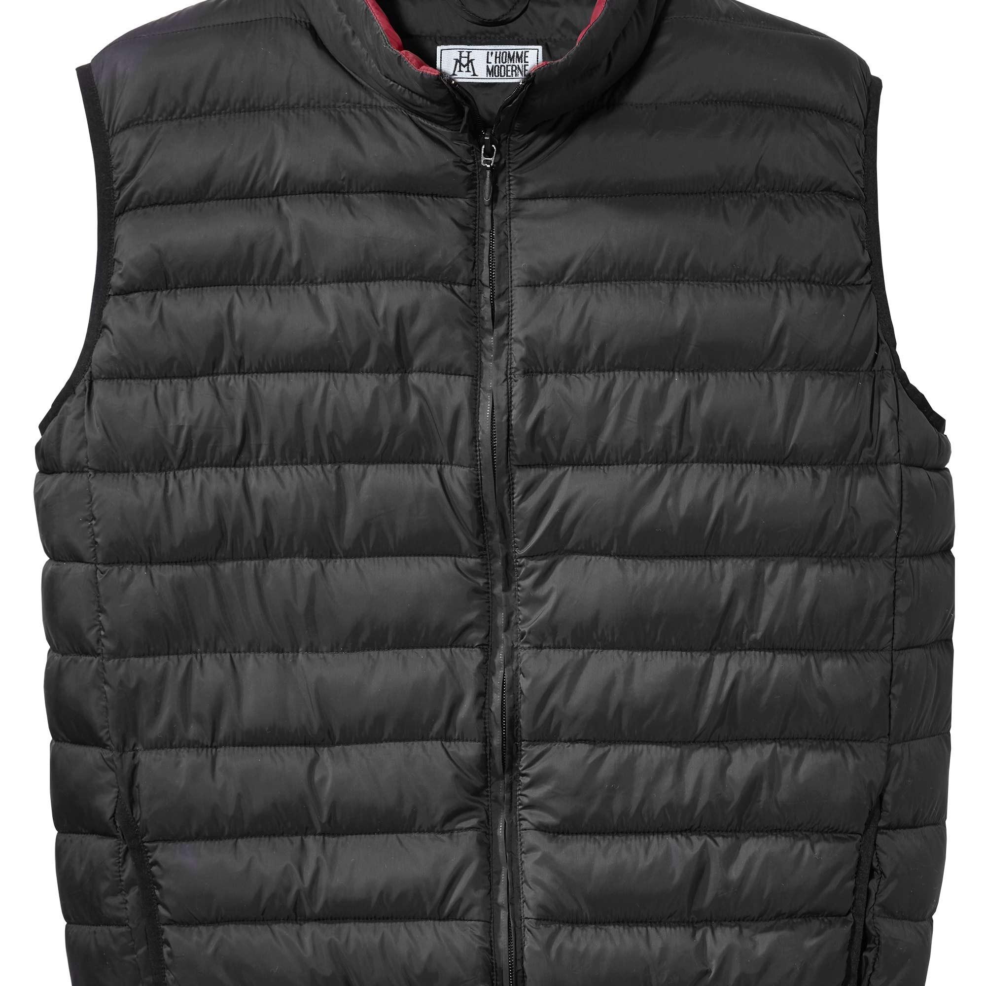 sedao vente manteaux vestes doudoune sans manches noir. Black Bedroom Furniture Sets. Home Design Ideas