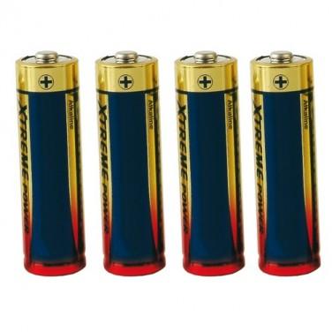 Piles alcalines R6 - Les 4