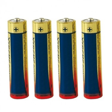Piles alcalines R3 - Les 4
