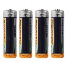 Piles rechargeables R6 - Les 4