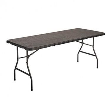 "TABLE DE JARDIN ""ROTIN"""