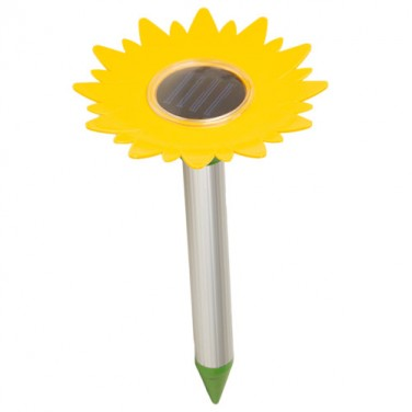 CHASSE-TAUPES SOLAIRE TOURNESOL