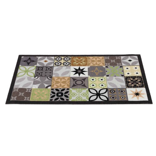 "TAPIS ""CARREAUX DE CIMENT"" 45 x 75 CM"