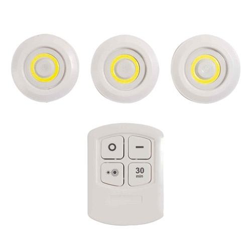 LES 3 SPOTS LED