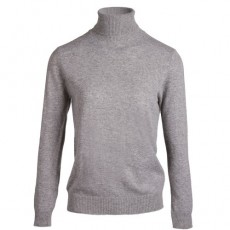 PULL LAMBSWOOL DOUCEUR GRIS CHINÉ