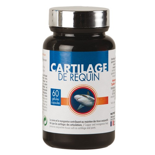 GÉLULES AU CARTILAGE DE REQUIN