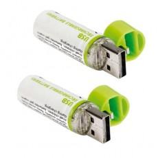 LES 2 PILES RECHARGEABLES USB