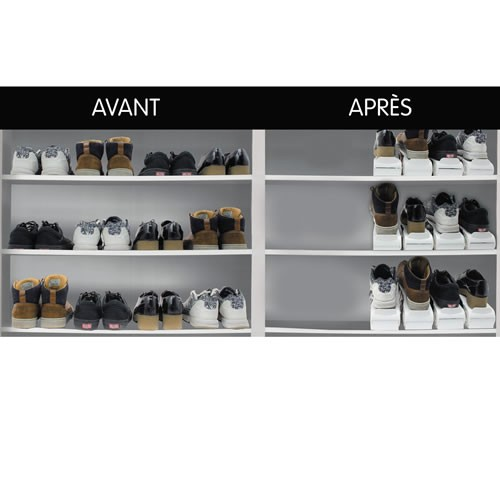 sedao vente rangement les 8 range chaussures gain de place. Black Bedroom Furniture Sets. Home Design Ideas