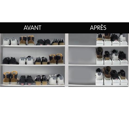 sedao vente rangement les 16 range chaussures gain de. Black Bedroom Furniture Sets. Home Design Ideas